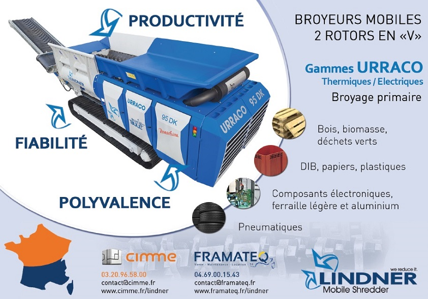 Broyeur Mobile Lindner - Parution presse