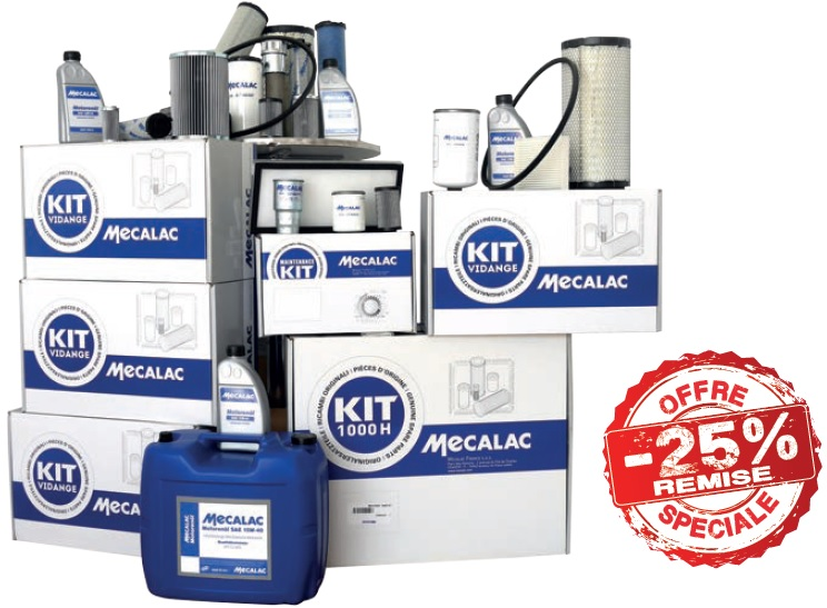 Kit filtration Mecalac