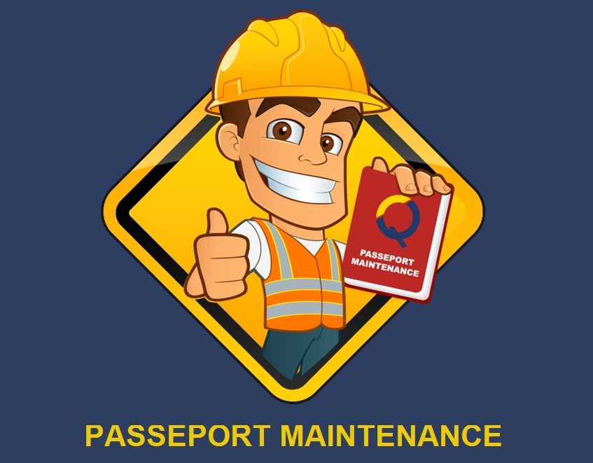 mascotte passeport maintenance