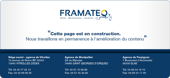 Framateq En Construction