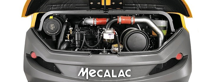 mecalac capot machine