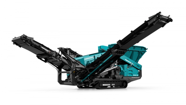 Powerscreen Warrior 600 new